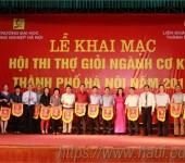 Đại học công nghiệp thi thợ giỏi ngành cơ khí thành phố Hà Nội năm 2016