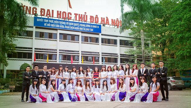 Đại học thủ đô thông báo tuyển sinh năm 2016
