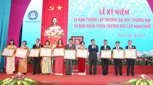 Đại học Thương Mại kỷ niệm 55 năm thành lập trường